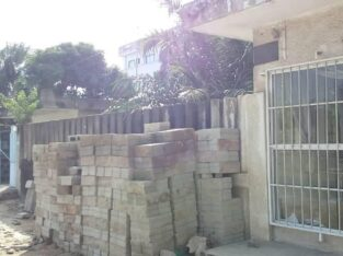 PARCELLE PORTANT CONSTRUCTION , BENIN GBEDJROMEDE